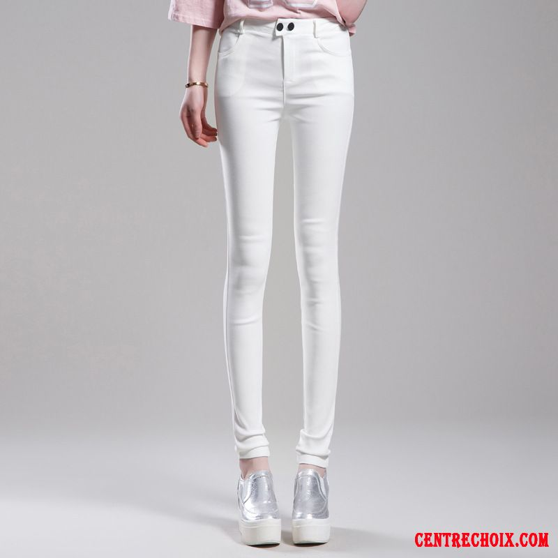 7299a30528cd5 Pantalon lin femme blanc   So electricien evry