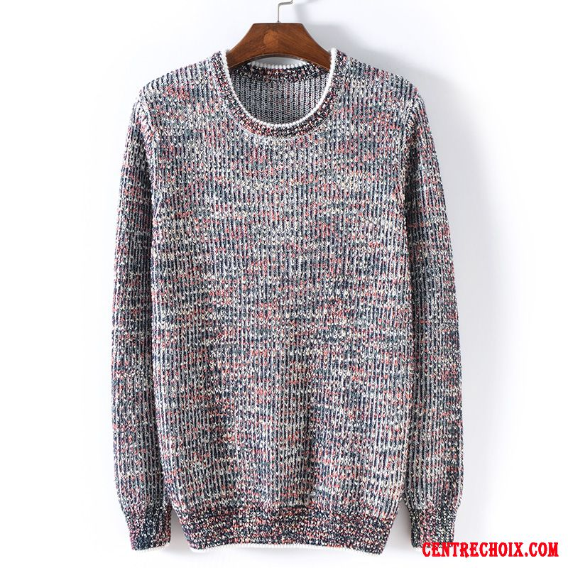 Pull Homme Grande Taille Or Gris, Pull Soie Homme